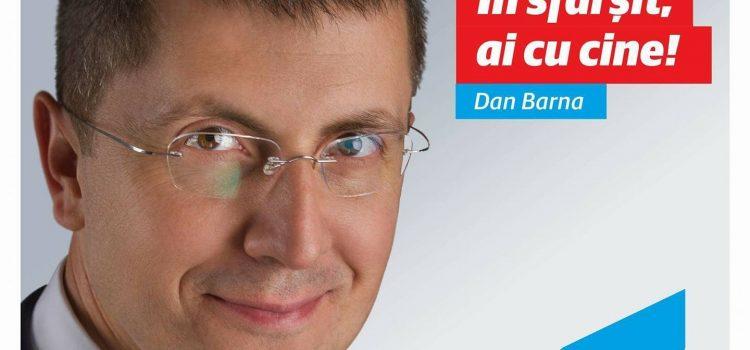 Conferință de presă a președintelui USR, Dan Barna, în Drobeta Turnu Severin, sâmbătă de la ora 10