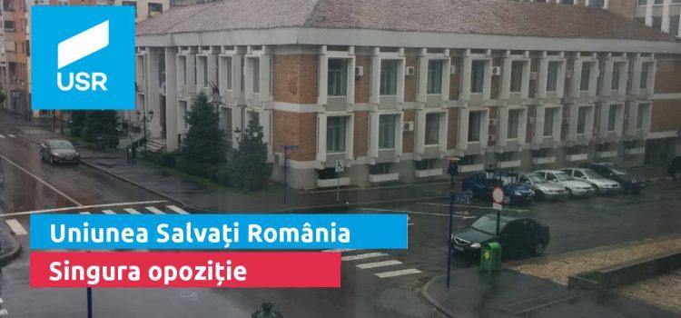 Uniunea Salvați România, singura opoziție în Drobeta Turnu Severin