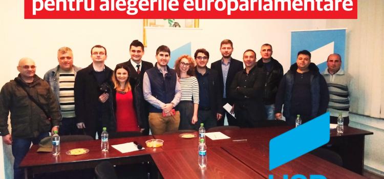 USR este primul partid din România care își alege candidații la europarlamentare în urma unui referendum intern